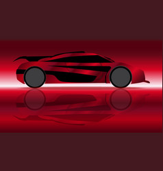 Extremely fast car vector