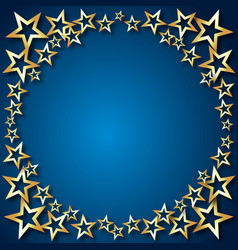Holiday background stars vector