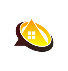 house focus business vector image