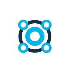 loudspeaker icon colored symbol premium quality vector image