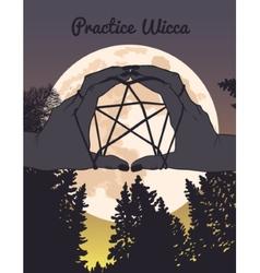 Practice wicca vector