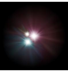 supernovas background vector image vector image