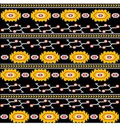 Ethnic backgorund vector image