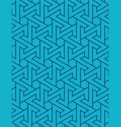 arabic geometric seamless background vector image