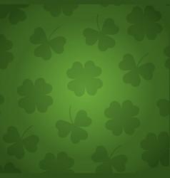 Background patron green irish vector