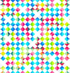 bright rhombus seamless pattern vector image
