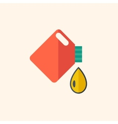 Oil Flat Icon vector