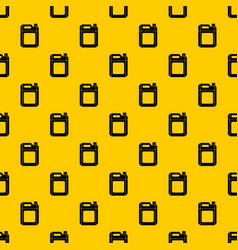 Plastic jerry can pattern vector