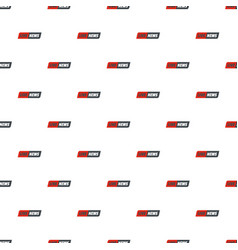 Reportage pattern seamless vector