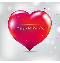 Valentines Day Card With Blur vector image vector image