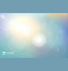 Abstract background landscape nature sunrise vector