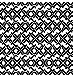 Abstract geometric seamless pattern in black and vector