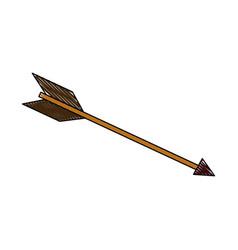 arrow business success strategy concept vector image