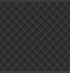 black geometric texture vector image