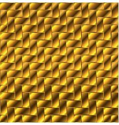 Gold block flooring vector