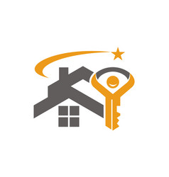 Home and key success vector
