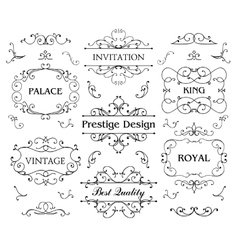Luxurious Royal Logo Design Template vector