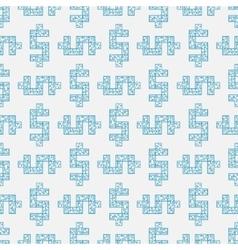 maze dollar labyrinth flat vector image