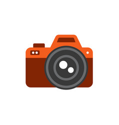photo icon - tool for video or photo fixation vector image