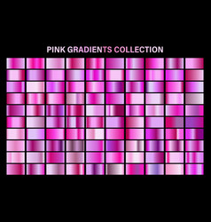 pink glossy gradient metal foil texture color vector image