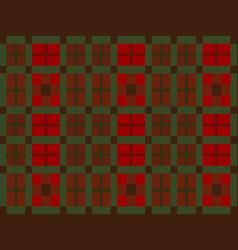 Scottish plaid vector