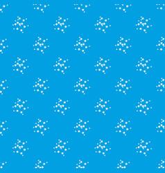 valine pattern seamless blue vector image