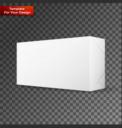 white wrap package for new design vector image