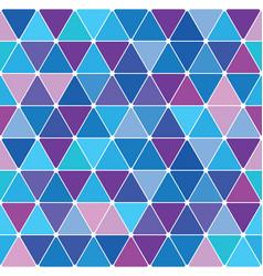 Winter triangle pattern 28 vector