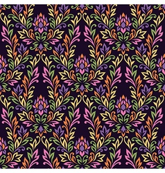 pattern ornament flower vector image