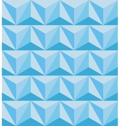 Geometric abstract seamless pattern Polygonal 3d vector image vector image