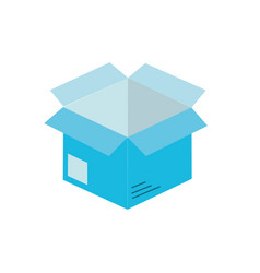 open box to delivery innovation vector image