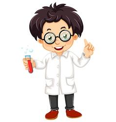 A scientist vector