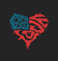 American love symbol valentine day vector