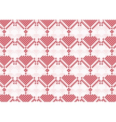 background of pink flowers pixel vector image