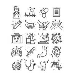 Health medicine doctor quality medical service vector