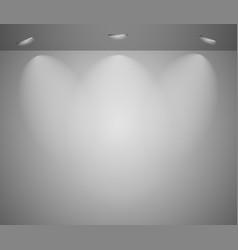 Studio light vector