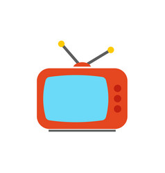 tv icon - television screen - entertainments vector image