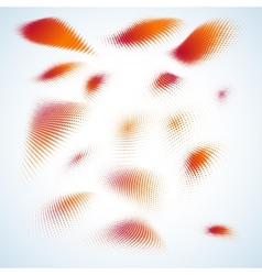 Abstract halftone design EPS 10 vector image vector image