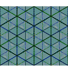 Continuous colorful pattern decorative abstract vector