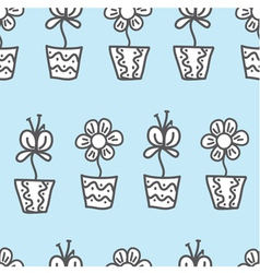 seamless background wallpaper with a repeating vector image vector image