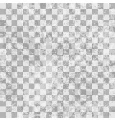 Grunge checkered seamless pattern vector image vector image