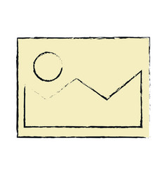 picture file isolated icon vector image