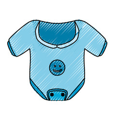 Baby cute clothing vector