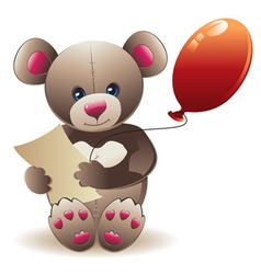 Brown Teddy Bear vector