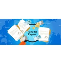 Panama papers leaked document money laundering vector