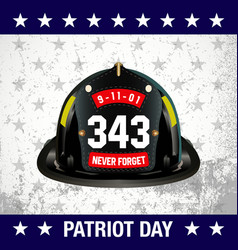 Patriot day background vector