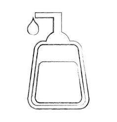 soap dispenser isolated icon vector image