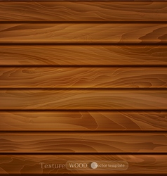 Wood background brown wooden planks vector