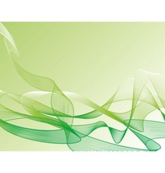 abstract wave pattern background vector image