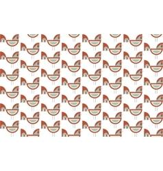 happy new year cock vector image vector image